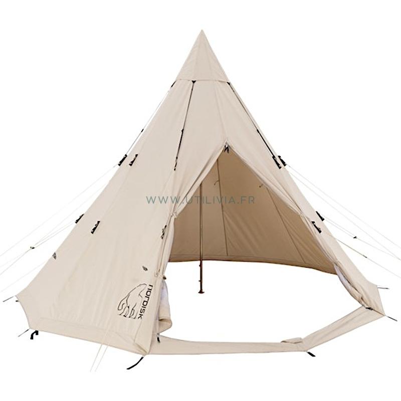 ALFHEIM NORDISK - 12,6 m² : Tente en polycoton - Forme tipi - 6 places - 11,8 kg