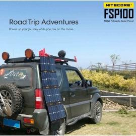 FSP100 NITECORE : Produit paré pour l'aventure