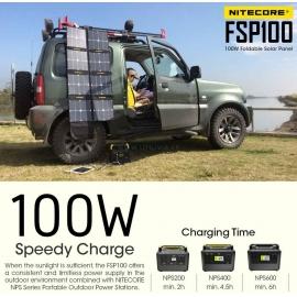 FSP100 NITECORE : Puissance record de 100 W