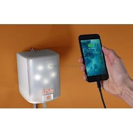 NOWLIGHT :  Chargement d'un mobile - Marque  Deciwatt