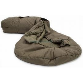 DEFENCE 4 - Taille 185  : Sac de couchage 4 saisons ultra résistant - Ouvert - Marque CARINTHIA