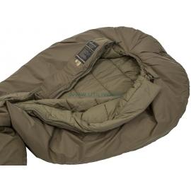 DEFENCE 4 - Taille 185  : Sac de couchage 4 saisons ultra résistant - Zoom sur doublure - Marque CARINTHIA