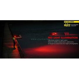 NITECORE NU32 : Lampe frontale - Leds rouges - Marque Nitecore