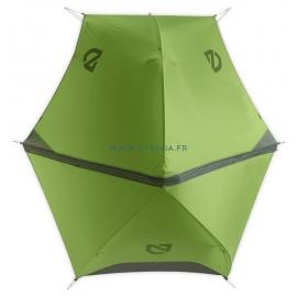 HORNET  2 places : Tente ultra légère - Marque NEMO - Première toile vue de face