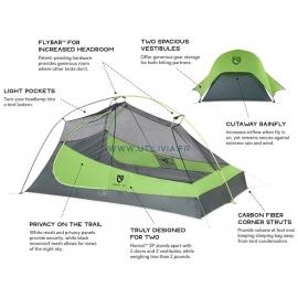 HORNET  2 places : Tente ultra légère - Technologies employées - Marque NEMO -